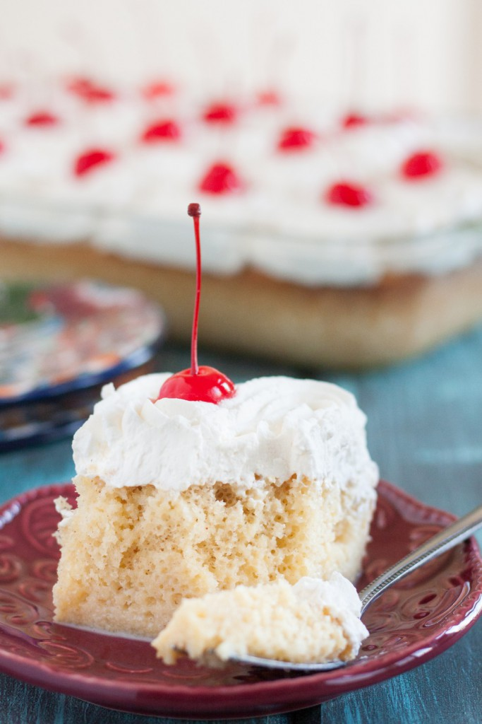 Tres Leches Cake Three Milks Is An Easy And Por Poke In