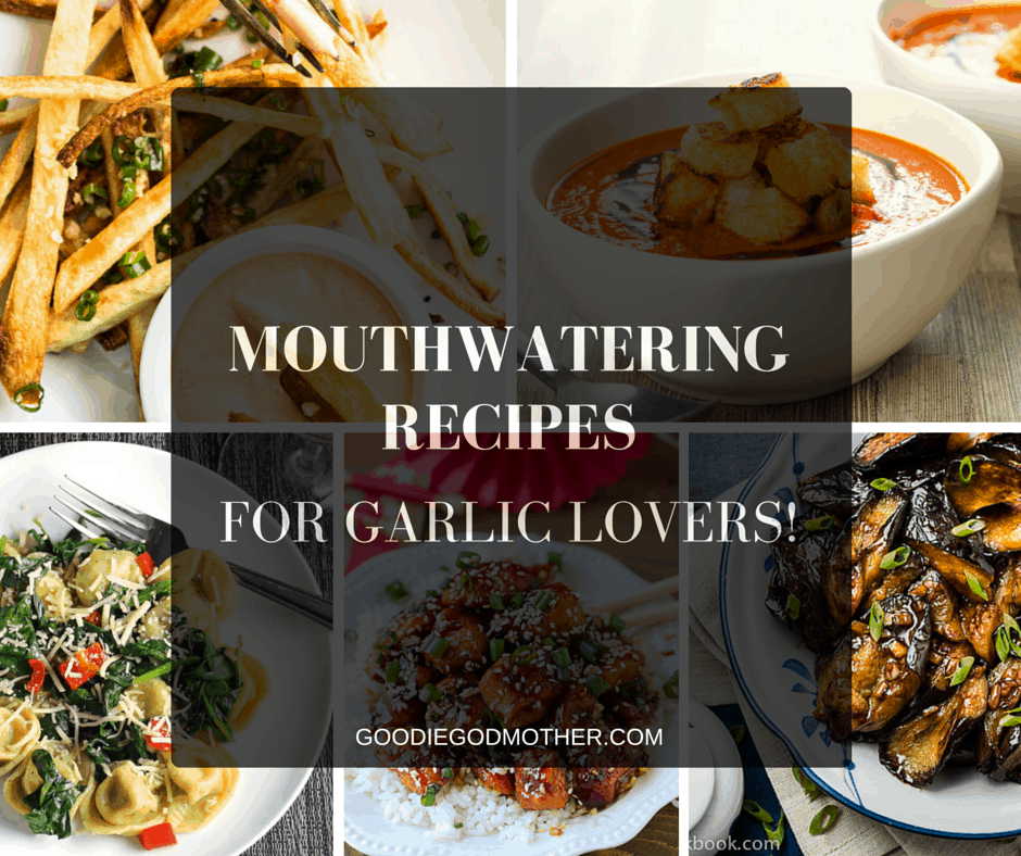 A list of over 15 DROOL-WORTHY garlic month recipes! A must save for every garlic lover!