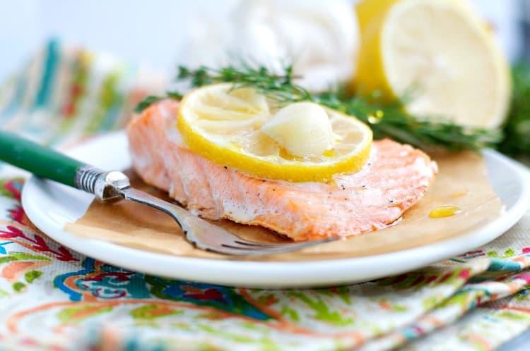 Garlic-and-Herb-Baked-Salmon-Seasoned Mom