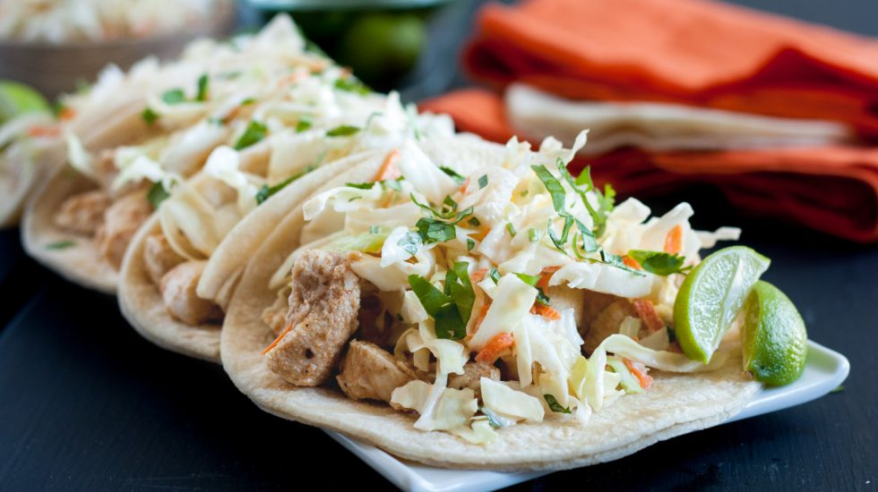 Key Lime Chicken Tacos