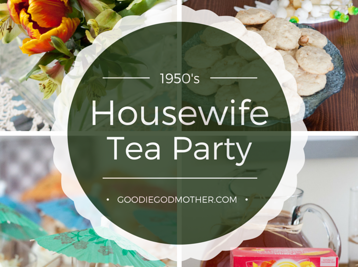1950's Housewife Tea Party