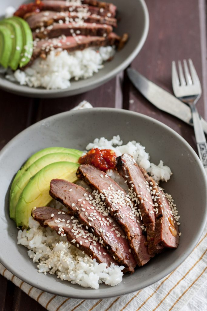 Did you know international flavors are perfect for the grill? Try this grilled bulgogi flank steak recipe for a tender grilled steak with Korean flavors! * Recipe on GoodieGodmother.com
