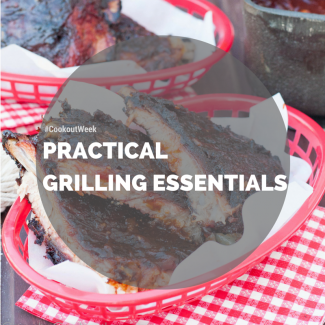A list of 6 practical grilling essentials recommended by our resident pit master/grill master, The Godfather!