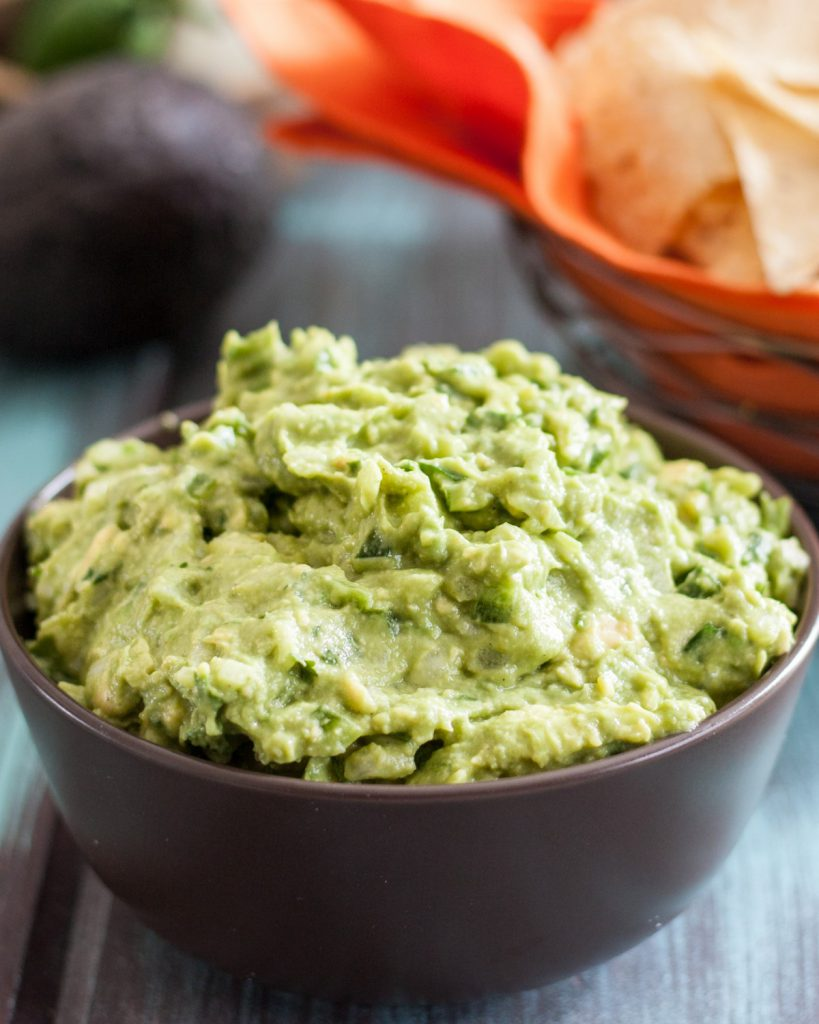 Move along, folks. There's nothing to see here... I'll just take those chips, and that bowl of boring guacamole and sit quietly right over there... * Recipe on GoodieGodmother.com