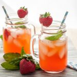 Strawberry Basil Lemonade is a delicious non-alcoholic lemonade recipe perfect for summer. Naturally flavored with fresh fruits and herbs! * Recipe on GoodieGodmother.com