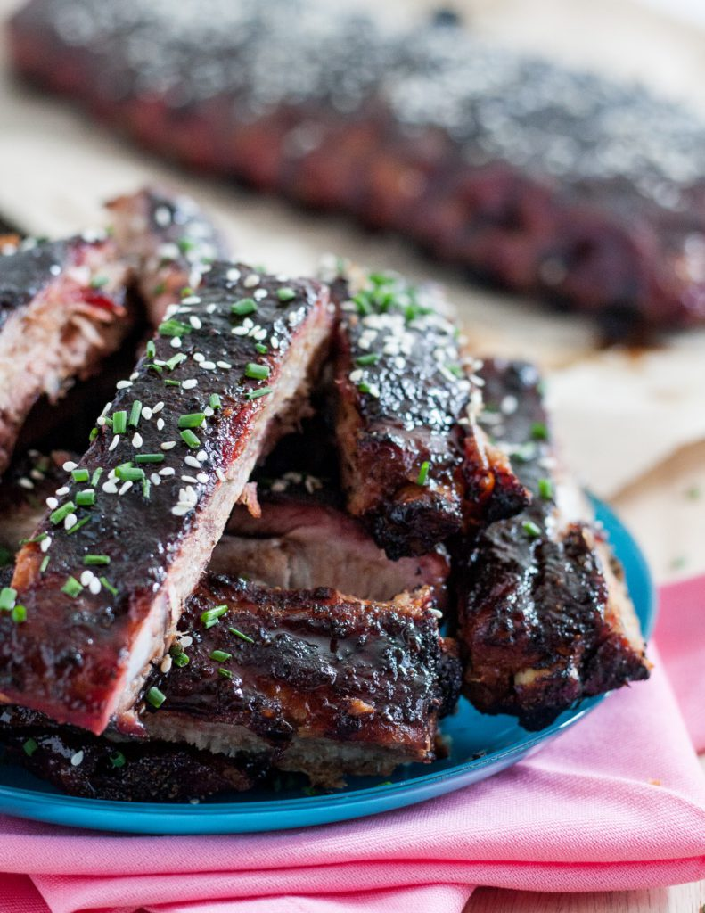 Sticky, saucy, sweet and spicy, these Hawaiian-inspired root beer sticky ribs are a crowd pleaser! * Recipe on GoodieGodmother.com