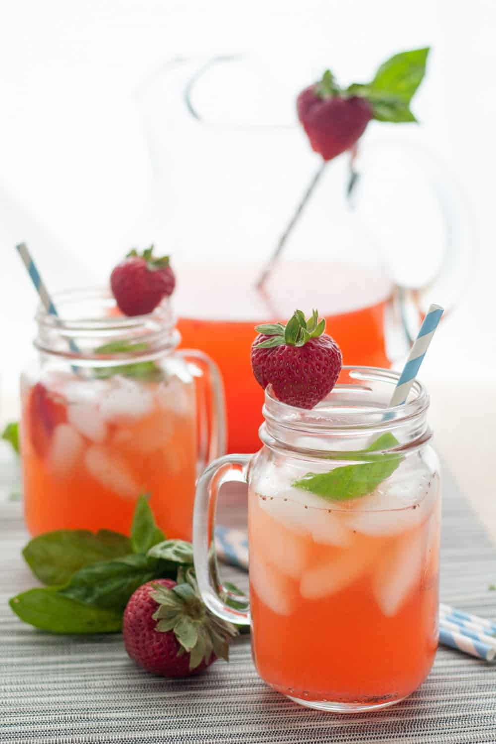 Strawberry Basil Lemonade - Goodie Godmother - A Recipe ...