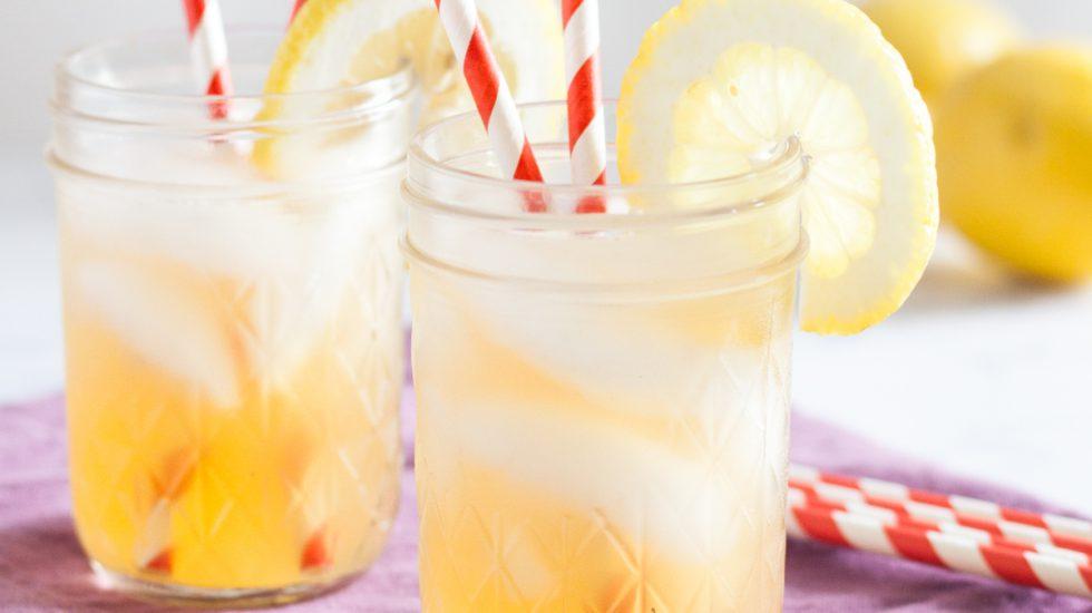 Raw Honey Lavender Lemonade