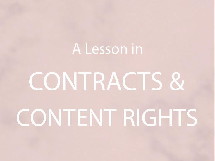CONTENT AND COPYRIGHT