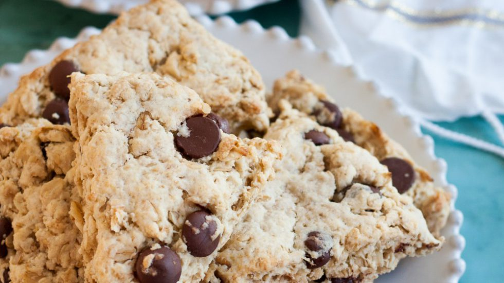 Oatmeal Scones Two Ways