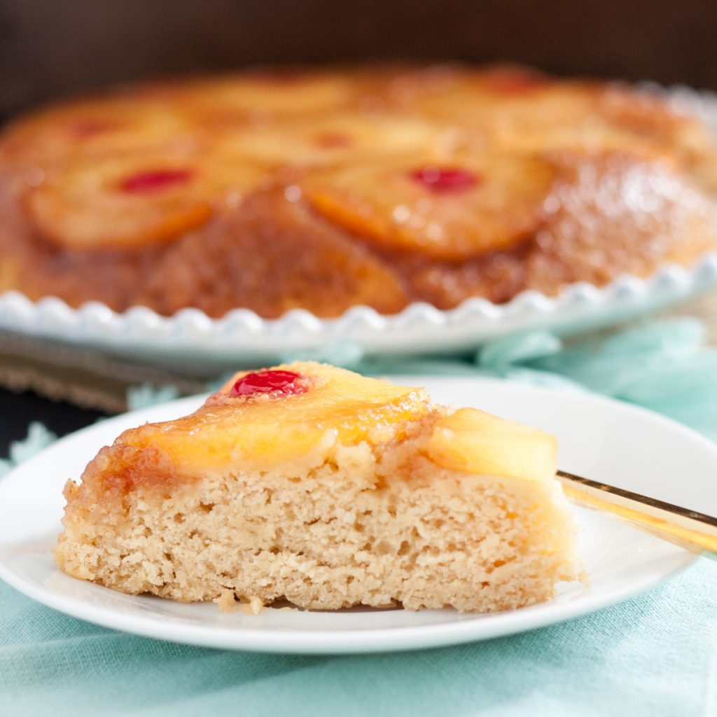 Easy, delicious, perfect for a weeknight dessert or a retro tiki party, grab your skillet and make this pineapple upside down cake from scratch today! * Recipe on GoodieGodmother.com