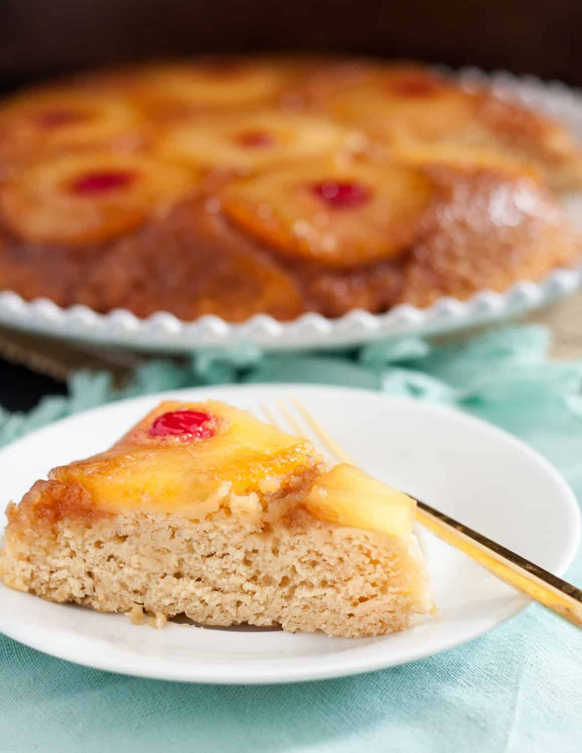 Cast Iron Skillet Pineapple Upside Cake