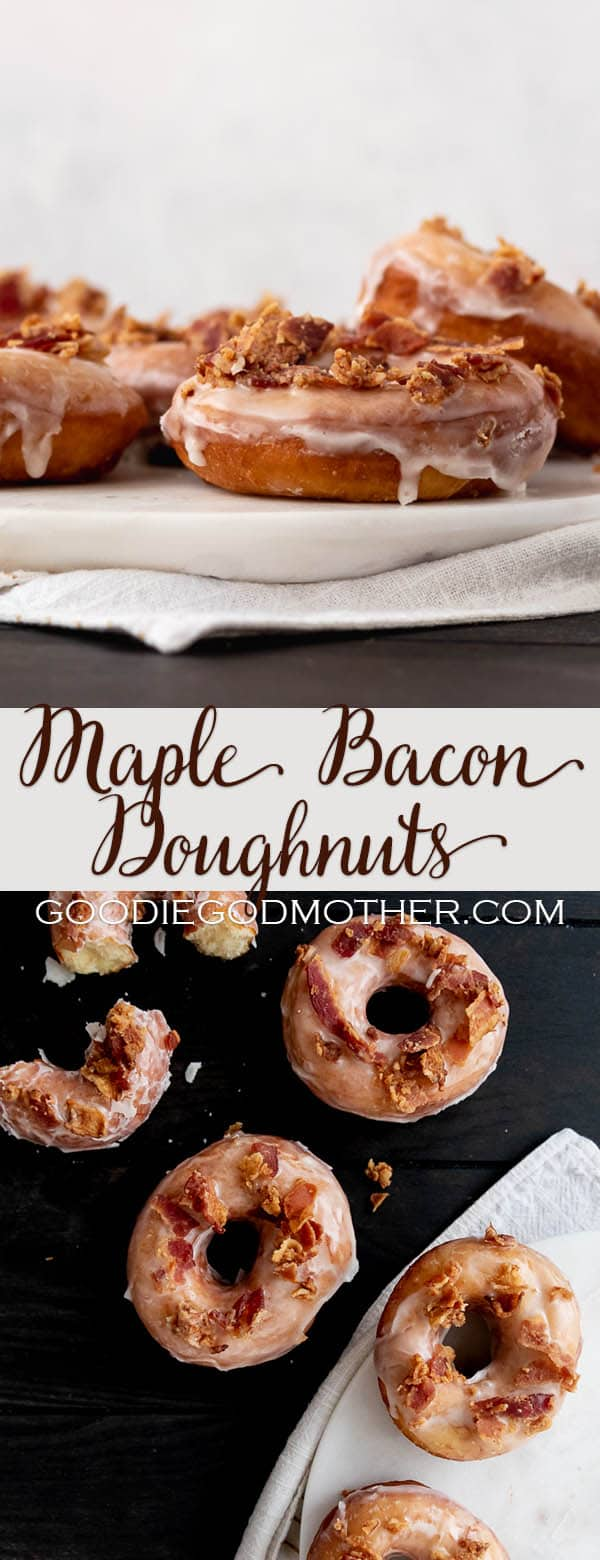 Make specialty donuts at home with this easy to follow maple bacon donut recipe!