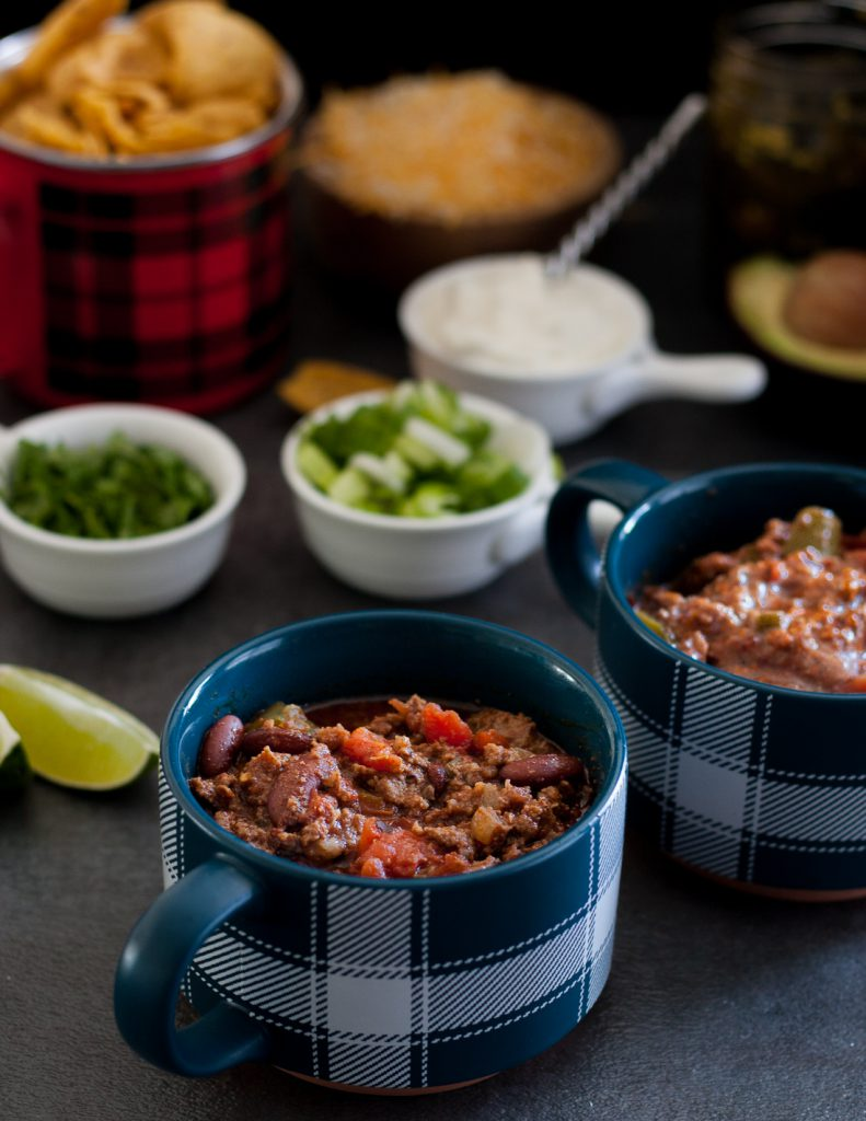The key to amazing chili is starting with great ingredients and layering the flavors just right! My jalapeno chili recipe is easy to follow, makes a ton (great for crowds), and freezes well for later. * Recipe on GoodieGodmother.com
