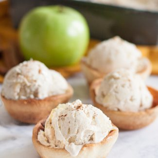 No Churn Apple Pie Ice Cream