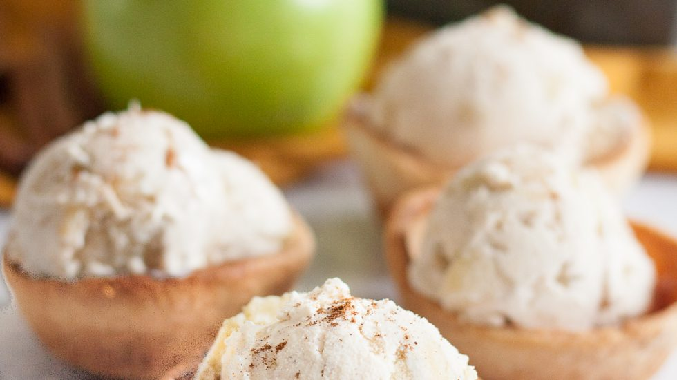 No Churn Apple Pie Ice Cream Recipe