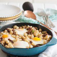 Low Carb Jicama Breakfast Skillet