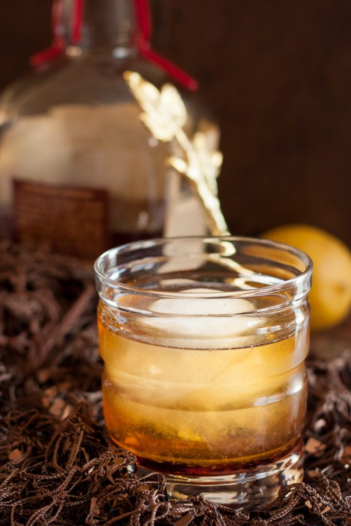 Maple+Leaf+Cocktail Maple Leaf Cocktail | Bourbon Drinks | The ...