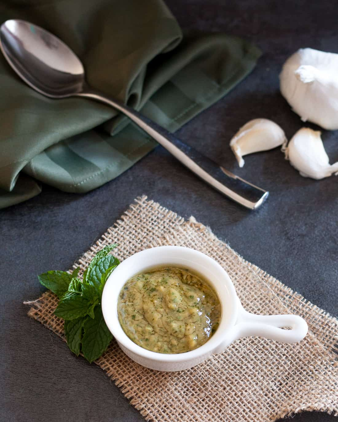 This easy mustard mint sauce is such a versatile condiment! Perfect for sandwiches, salads, or as an accompaniment to a variety of meats. * Recipe on GoodieGodmother.com