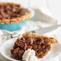 White Russian Pecan Pie