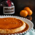 Classic flan gets a citrus liquor twist in this Grand Marnier flan recipe. Flan is a delicious, cooling, custard dessert common in Latin cuisine. * Recipe on GoodieGodmother.com