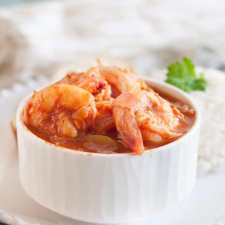 A savory Cuban shrimp dish, creole shrimp (or camaron criollo) is a tasty and relatively quick meal to make at home. * Recipe on GoodieGodmother.com