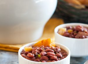 Cuban Red Bean Soup {Potaje Colorado}