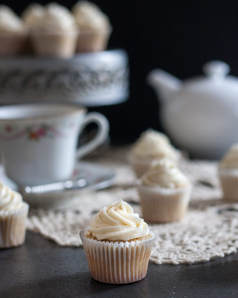 ? This recipe for Earl Grey cupcakes with honey buttercream frosting ...