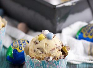 Cadbury Creme Egg Gelato