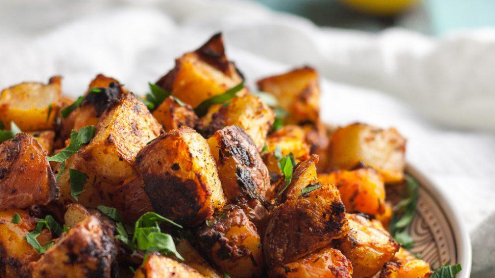 Crispy Oven Roasted Spanish Potatoes