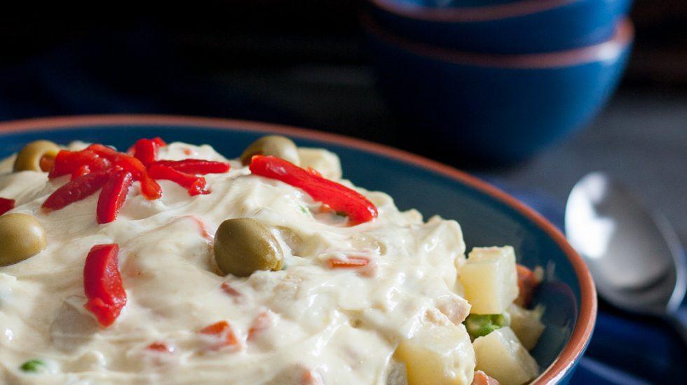 Ensaladilla Rusa – Spanish Potato Salad