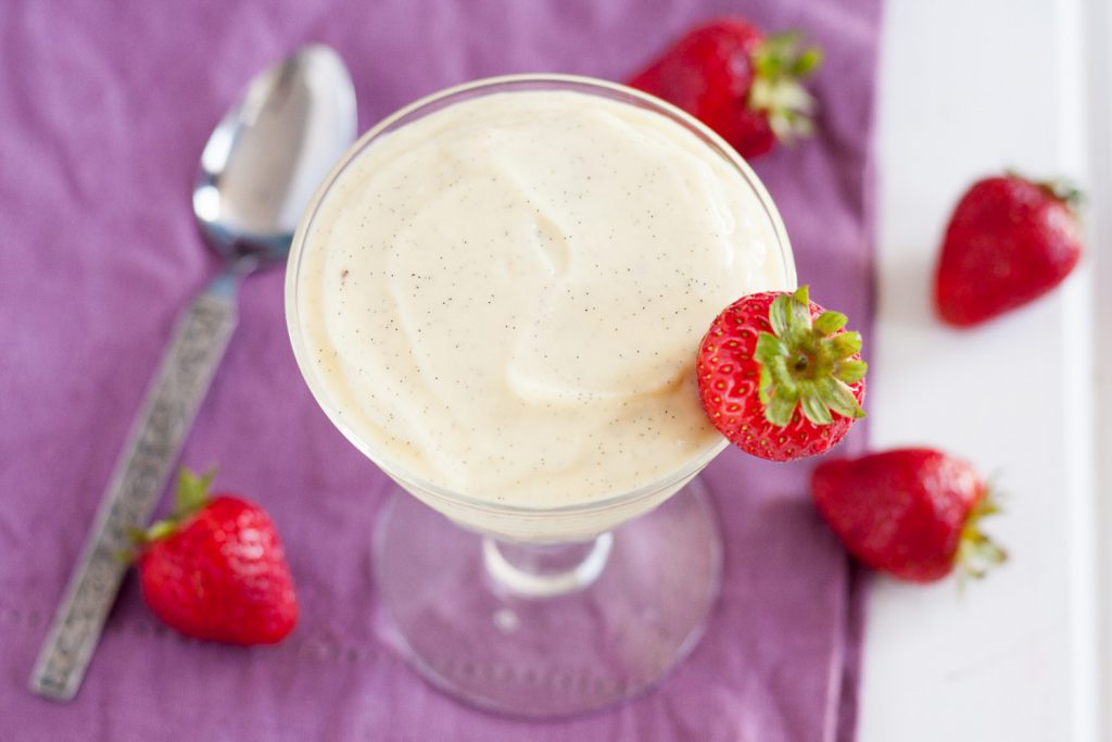 Vanilla bean pudding is a classic, beloved dessert you can whip up with just a few simple ingredients. * Recipe on GoodieGodmother.com