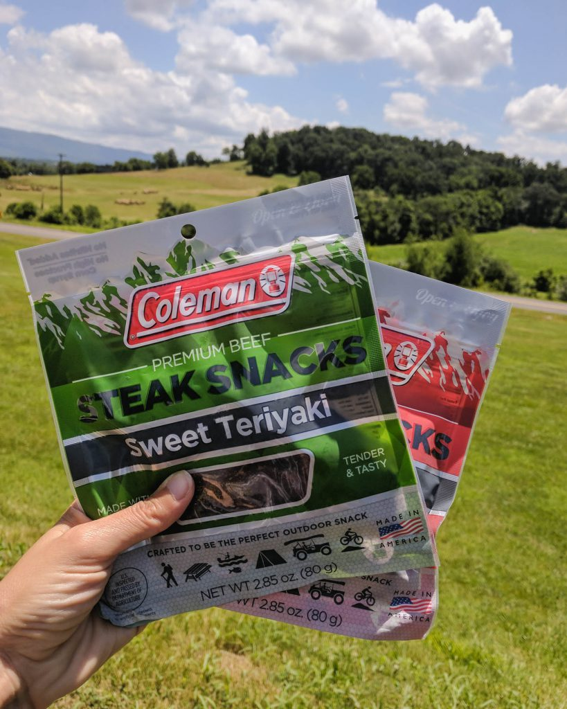 Vacation doesn't have to derail your health goals. Get ideas to help you pack healthy road trip snacks when you visit the blog. * GoodieGodmother.com #ad #MomBlogTourFF