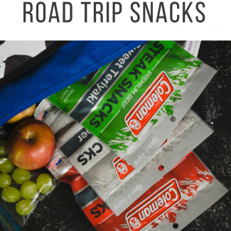 Healthy Road Trip Snack Ideas