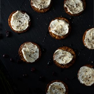 Whipped Honey Goat Cheese Spread