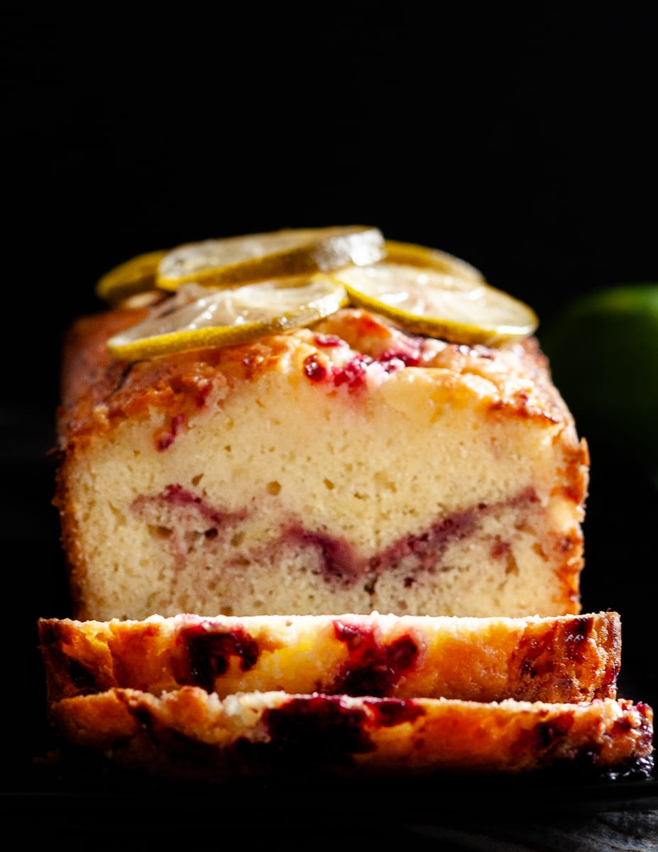 Inspired by a summertime twist on a classic cocktail, this blackberry gin and tonic pound cake is a delightful anytime treat or gift to share with friends! * Recipe on GoodieGodmother.com