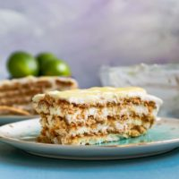 Lime Icebox Cake