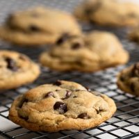Big Browned Butter Chocolate Chip Cookies