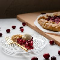 Fresh Cranberry Galette
