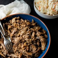 Slow Cooker Pulled Pork Georgia Style