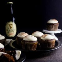 Guinness Cupcakes with Cream Cheese Frosting