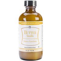 LorAnn Oils Emulsion, Butter Vanilla, 4 Ounce