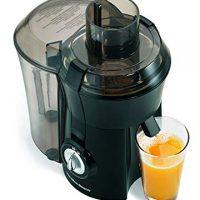 "Hamilton Beach Juicer Machine, Big Mouth 3"" Feed Chute, Easy to to Clean, 800 Watts, Black (67601A),"