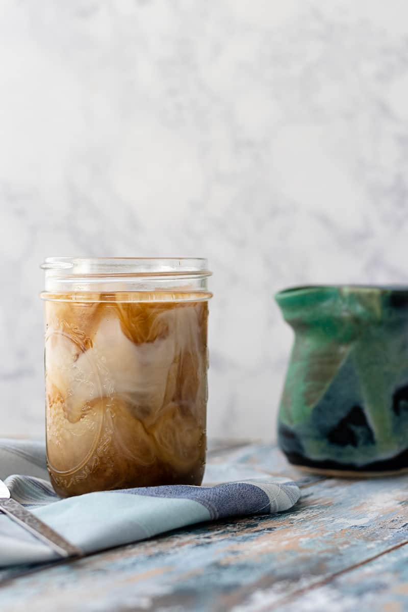 Get ready for even the busiest summer days with this cold brew coffee recipe! DIY cold brew coffee keeps up to a week in the fridge (if it lasts that long...).