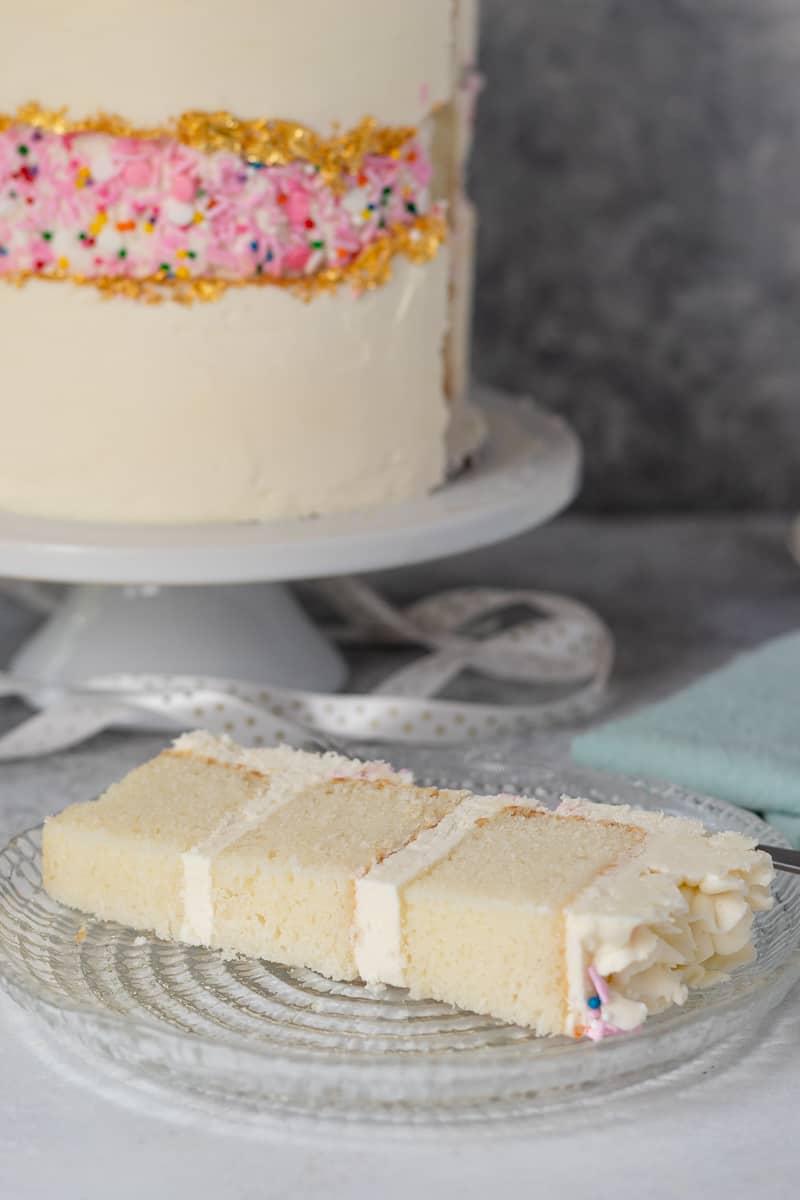 sour cream white cake recipe