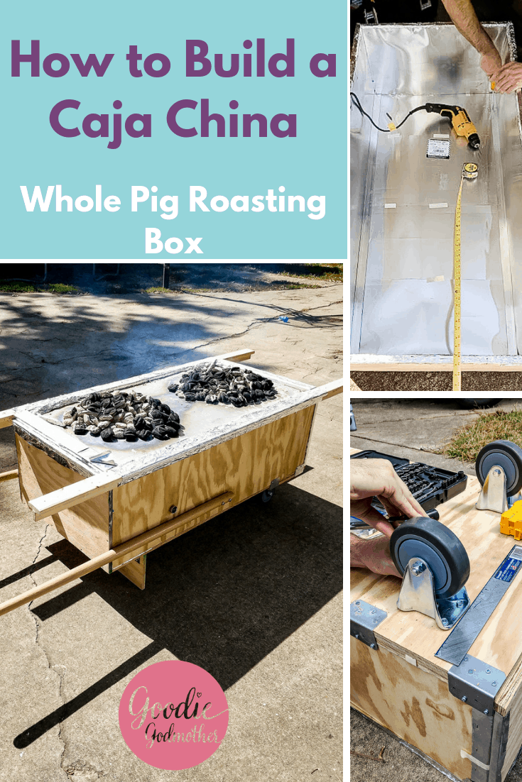 How to Build a Caja China, aka, Pig Roasting Box. This tutorial will show you how to build your own pig roasting box to roast a whole pig without a pit. Part of a 3 part series documenting how to build a pig roaster, source a whole pig, and roast a whole pig. #howtomake #diy #cubanfood #bbq #pigroast #roastpig