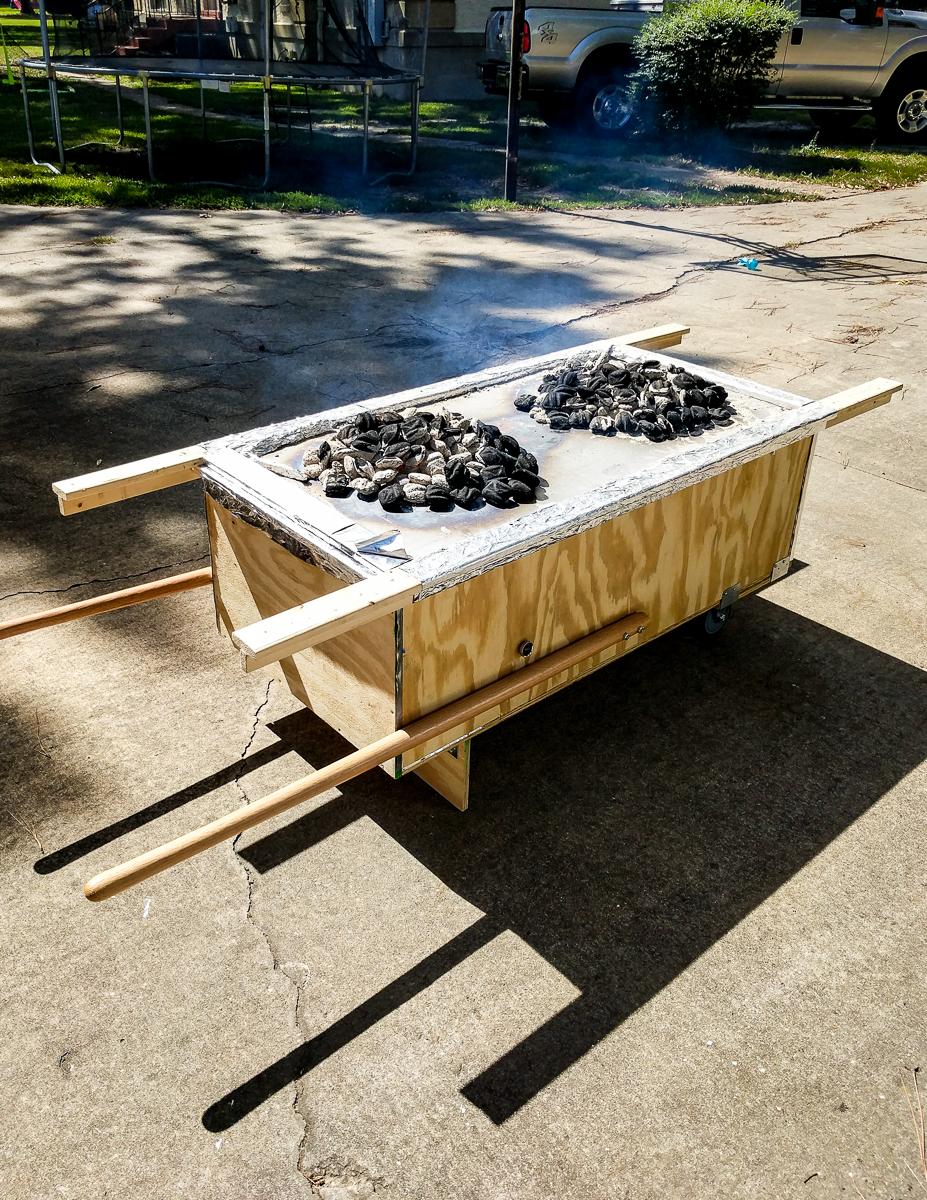 how to roast a pig with la caja china