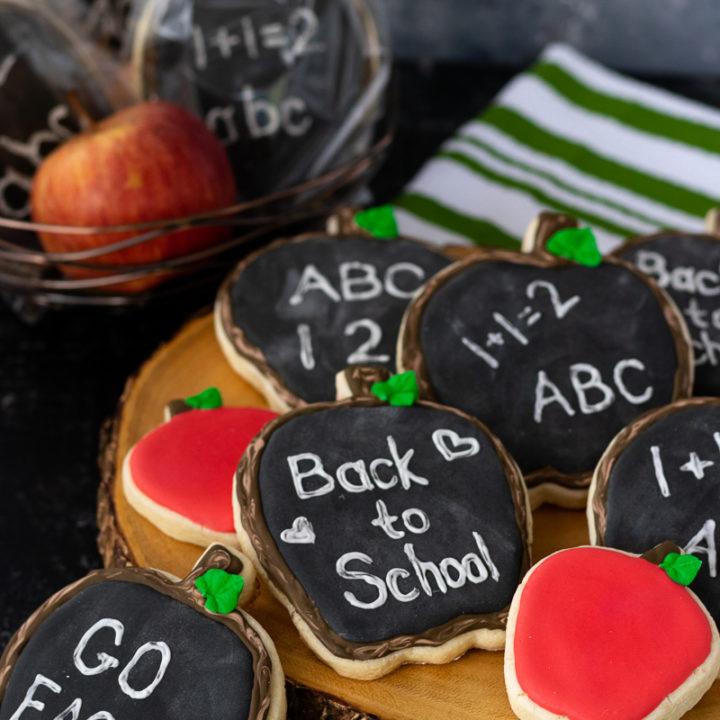 display of various cookie design options