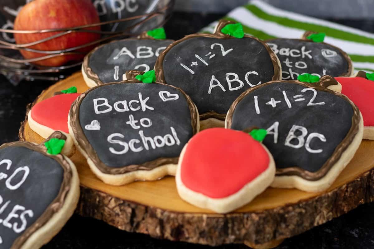 creative back to school cookie design option