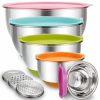 Mixing Bowls with Airtight Lids